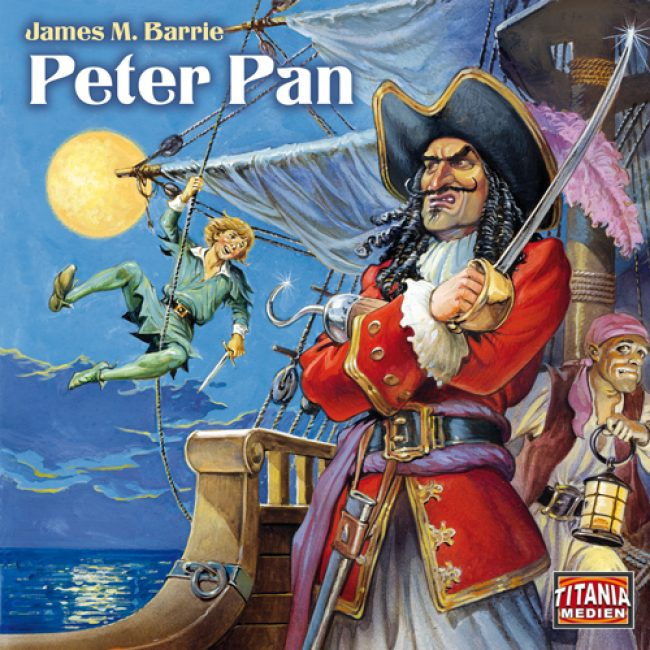 Folge 003: James M. Barrie – Peter Pan